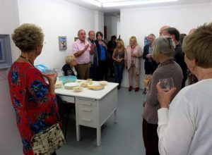 Exhibition opening at Greyfriars Art space 1